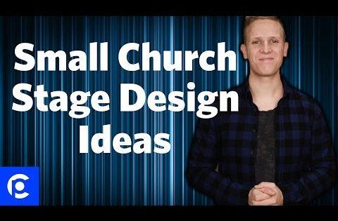 3 Small Church Stage Design Ideas Pro Church Tools