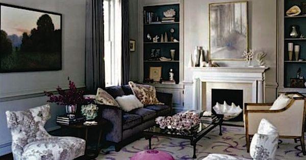 Elle Decor Ali Wentworths Living Room Favorite Spaces