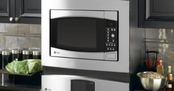 Ge Profile Jx1527smss 27 Trim Kit Stainless Steel By 211 49 Allows Countertop Microwave Oven To Be Installed In A Wall Or Cabinet Alone O