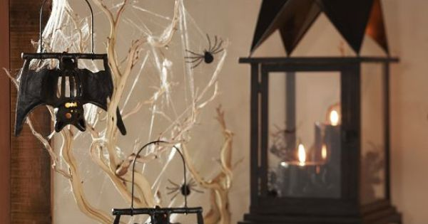 Hanging Bat Votive Holder Pottery Barn. These sold out so fast I never got one. Ideas for ...