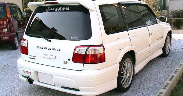 Jdm Subaru Forester Sti Sf5 Kouki Rear Top Wing Spoiler