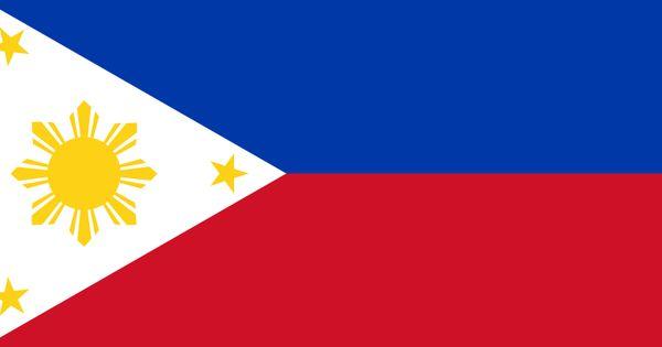 philippine flag position