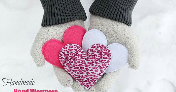 heart handwarmers, lets see if they work.