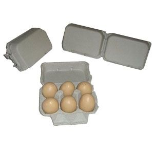 Great For Bath Melts Holds 12 Eggs Pillo Pulp Split 6 Egg Cartons Non Printed Free Shipping Egg Carton Egg Packaging Poultry Supplies