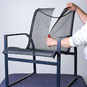 Download Wallpaper Retro Metal Patio Chair Parts