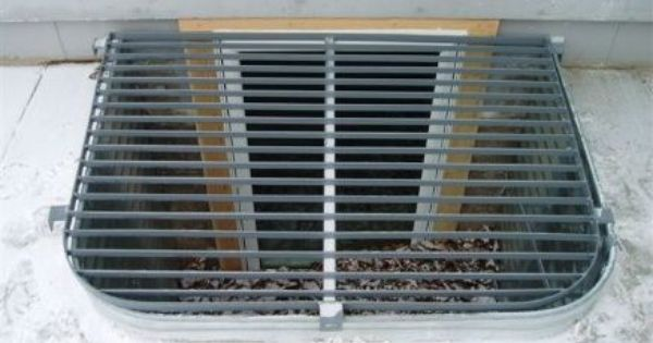Metal Grate Window Well Cover House Ideas Pinterest