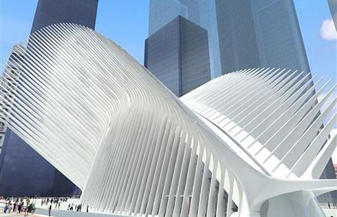 Santiago Calatrava's World Trade Center Transportation Hub - New York City, NY