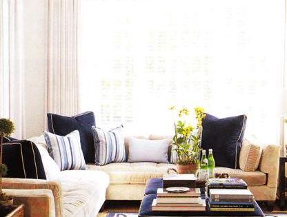 Living Rooms Mustard Sectional Sofa Velvet Blue Throw