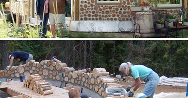House Built Out Of Natural Materials : Imagine owning your own green dream home made out of
