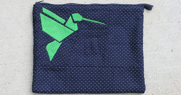 Hummingbird Origami Paper Piecing by Julia Marie ♥, via ... - photo#29