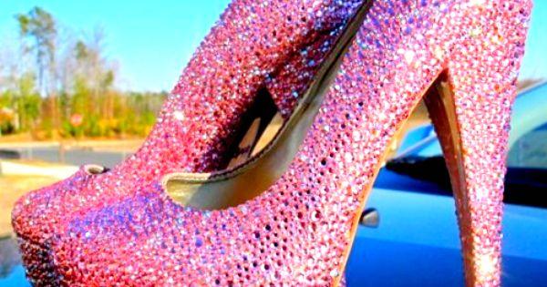 sparkle sparkle.... my wedding shoes!