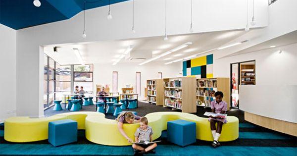 Nice ideas for interior design of school