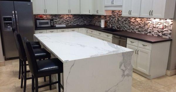 Nashville Showroom Remodel- Neolith Porcelain Countertops - Island is ...