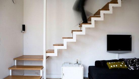 De zwevende trap wooninspiratie trap pinterest for Buitenste trap ontwerp