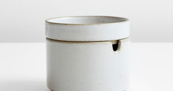 Hasami Gloss Gray Sugar Bowl In 2020 Hasami Sugar Bowl Modern Table Linens