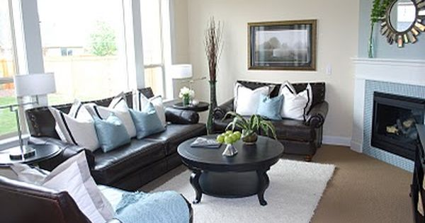 Interiors Redefined Recycled Brown Living Room Decor Leather Couches Living Room Brown And Blue Living Room
