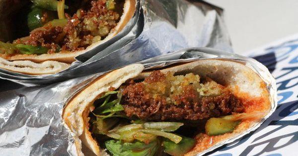 Green Shawarma Salmon Recipe — Dishmaps