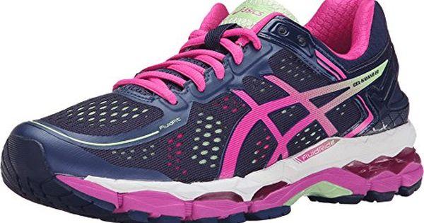Details about Women's Asics Gel Kayano 22 Purple Pink Pistachio Running Sneaker (8.5)