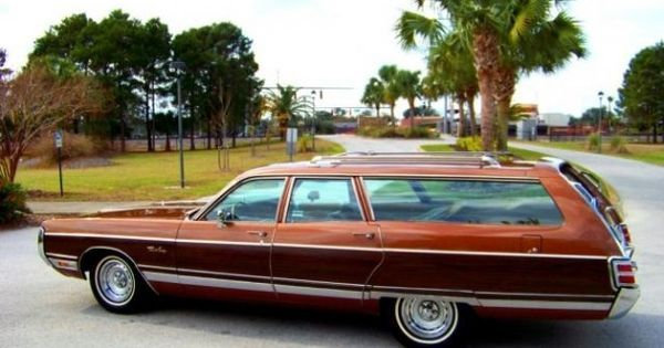 1972 Chrysler Town And Country Station Wagon Station Wagon