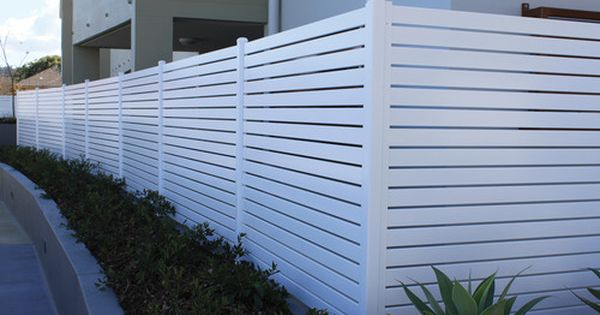 Vinyl Horizontal Fence Aluminium Steel Fencing Vision Fencing House Fence Design Fence Design Modern Fence Design