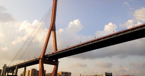 的梦想 收藏,描述内容为:上海杨浦大桥是我国著名 ...