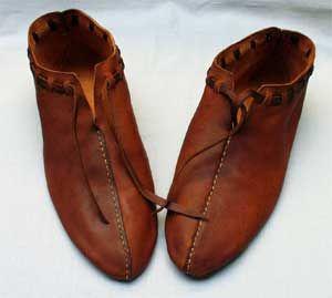 replica saxon shoes at the ashmolean