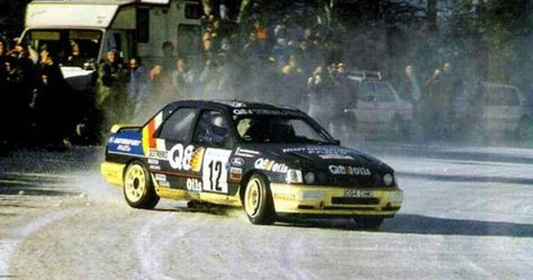 1991 Monte Carlo Rally Ford Sierra Rs Cosworth 4x4 Entrant Q8
