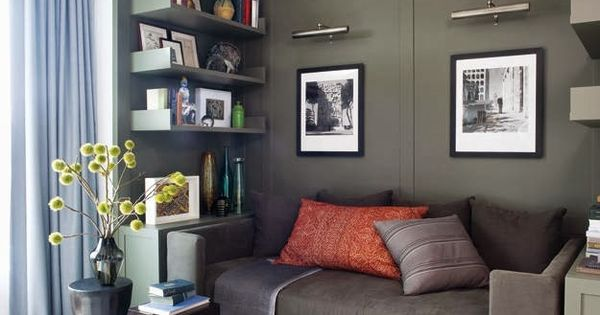 Dark olive green wall paint pinterest olive green - What colors go with olive green walls ...