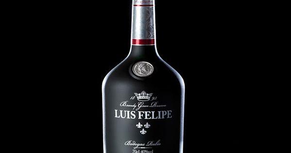Brandy Luis Felipe Brandy Bottle Wine Packaging Alcohol Packaging Design