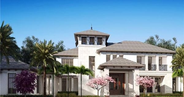 West indies style is making a big push in naples right now for British west indies house plans