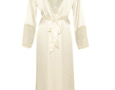 Marks And Spencer Wedding Gifts: Autograph At Marks And Spencer Cream Satin Floor Length