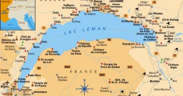 Le Topic Officiel Sur Le Lac Leman Lac Suisse