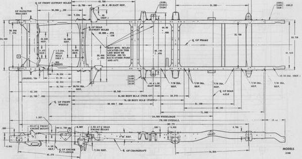 1958 apache frame measurements - the 1947