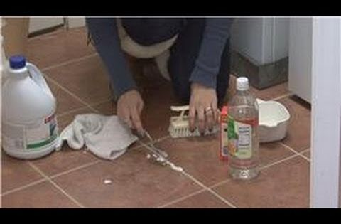 how to clean ceramic tile with vinegar and baking soda