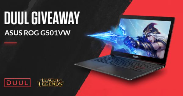 Win A 15 6 Asus Rog Gaming Laptop Ww 7 31 Via Sweepstakes