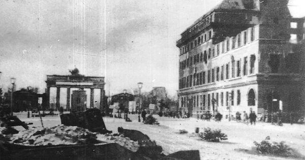Brandenburger Tor Nach 1945 Berlin Geschichte Berlin Geschichte