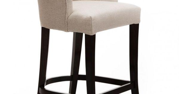 Ella Bar Stool The Odd Chair Company In Leather