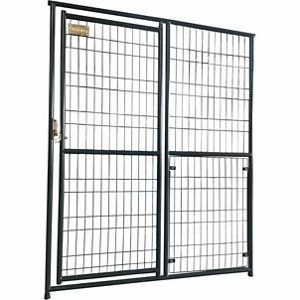 Retriever Lodge Kennel Door Panel At Tractor Supply Co Dog Fence Dog Kennel Dog Crate