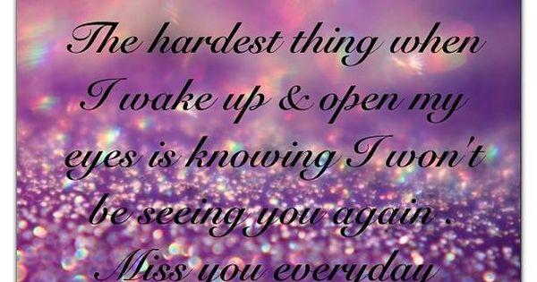 Every Morning When I Awake My Heart Breaks All Over Again
