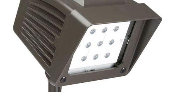 Atlas Lighting Pfs22led 22 Watt Led Flood Light 4500k Replaces 100 Watt Metal Halide Led Flood Lights Led Power Led