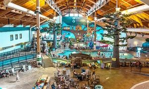 Stay With Water Park Passes At Three Bears Resort In Warrens Wisconsin Dates Into June Indoor Waterpark Water Park Wisconsin Dells Winter
