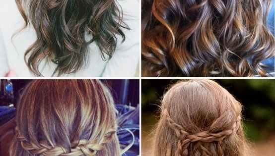 Half-up hair styles / Wedding hair ideas