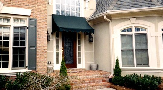 Atlanta Awning Company Front Door Awning Awning Over Door Residential Awnings