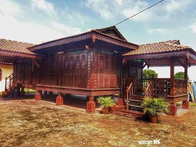 Rekaan Rumah Kayu Rekaan Rumah Papan Rekaan Rumah Kampung Desain Rumah Kecil Rumah Kayu Rumah Kebun