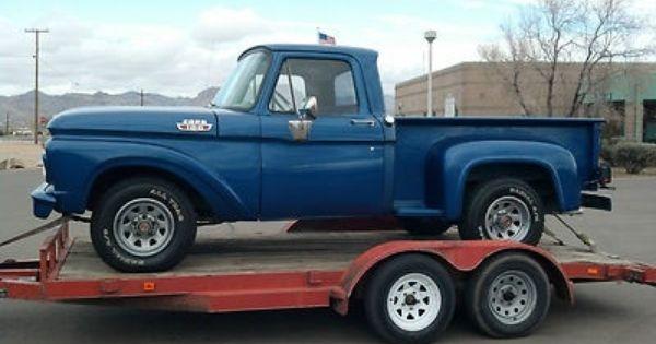 1963 Ford F100 Stepside Truck Pics Classic Trucks Ford Trucks