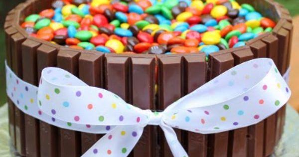 Kit Kat M& M cake...