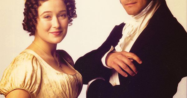 Jennifer Ehle and Colin Firth as Elizabeth Bennet and Fitzwilliam Darcy |