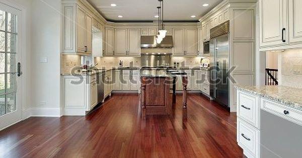 Kitchen With Cherry Wood Floors Wood Floor Kitchen Cherry Wood