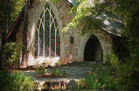 Callaway Gardens Chapel In Harris County Georgia Near Pine Mountain Ga Lots Of People From