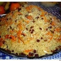 Qabali Afghani Rice Recipe On Wegottaeat Pulao Recipe Afghan